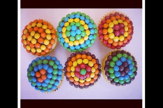 Delightfully fun cupcakes.