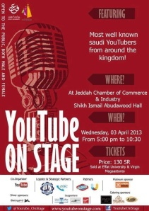 Effat University event YouTube on Stage in Jeddah