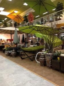 Garden paraphernalia at Fayfa Garden Centre, Tahlia Street, Jeddah, Saudi Arabia.