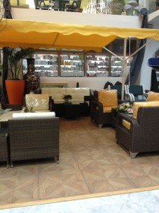 Patio Sets at Fayfa Garden Centre, Tahlia Street, Jeddah, Saudi Arabia.