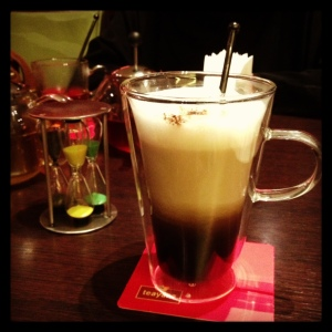 Teayana Spiced Chai Latte Jeddah Saudi Arabia