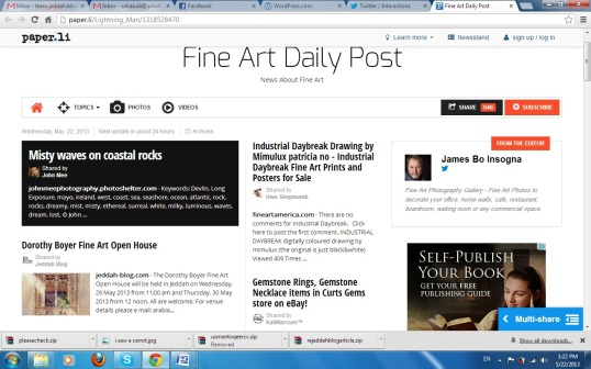 Fine Art Daily Post