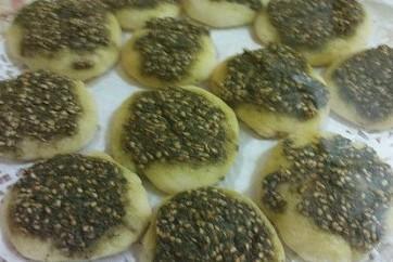 Zaatar Pizza or Fathira Za'tar, Jeddah, Saudi Arabia, KSA