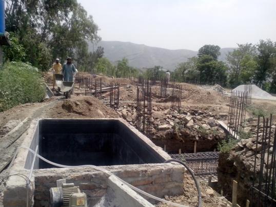 Pakistan Kidney Center, Abbottabad - Construction in progress - May 2013 Jeddah Blog
