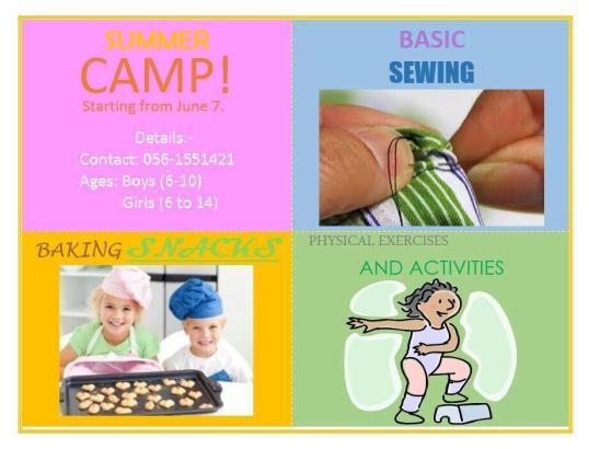 Summer Camp Jeddah