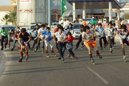speed skating event, Jeddah