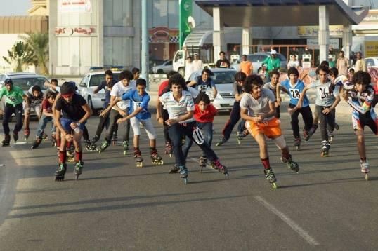 speed skating event, Jeddah