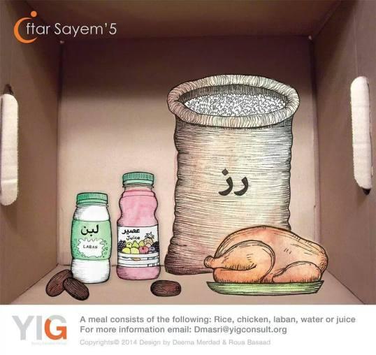 YIG Ramadan Volunteering Food Program