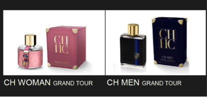 Carolina Herrera Grand Tour Fragrances
