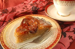 fig frangipane slice