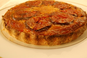 fig frangipane glaze