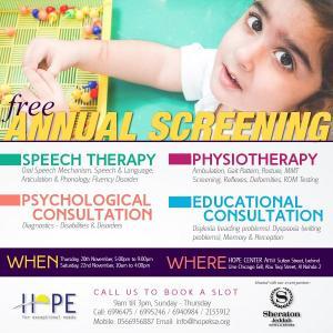 Free Screening for Kids at Hope