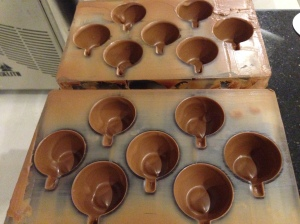 Le Concheur, chocolate in mould