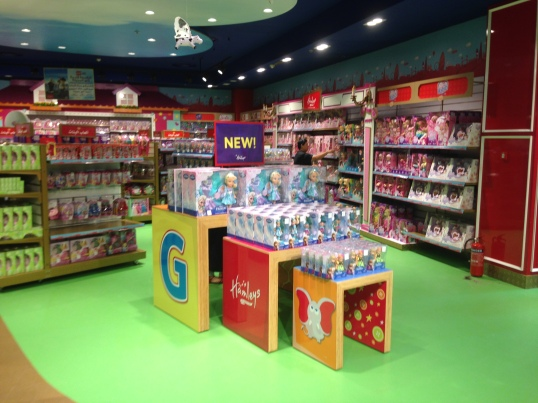 Display Hamley's Jeddah