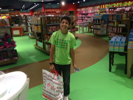 Hamley's customer Jeddah