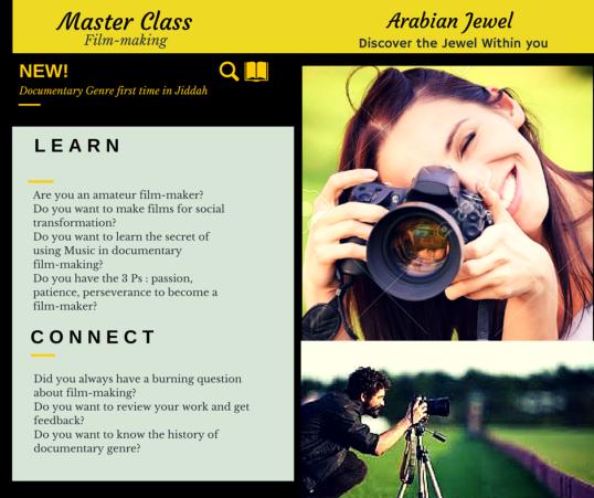 Master Class-2 film-making