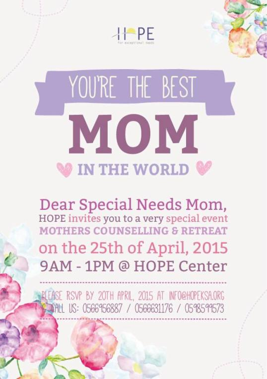 Special Needs Mothers