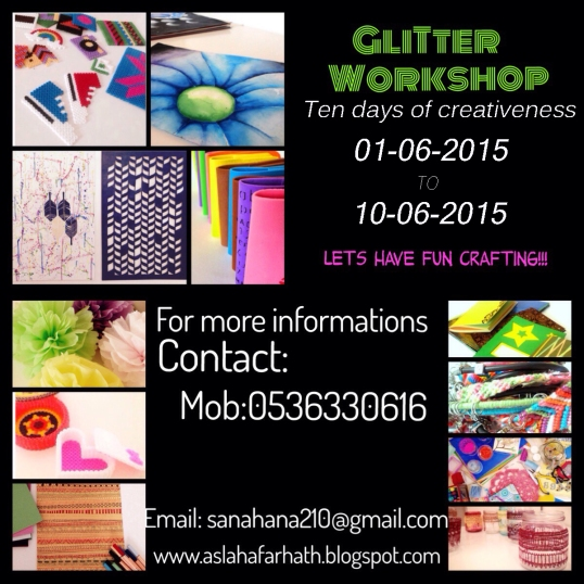 Glitter Workshop Jeddah