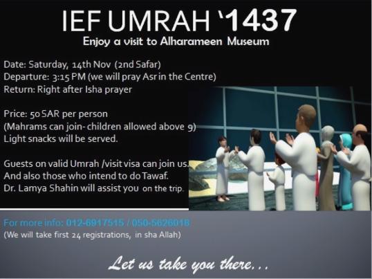 IEF Umrah 2015