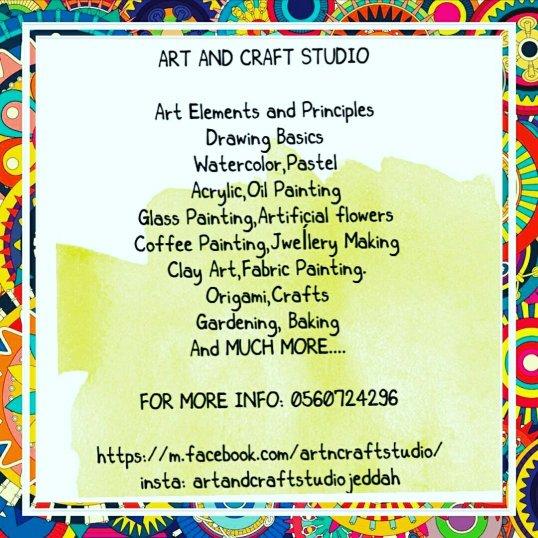 art and craft studio
