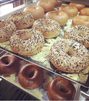 Visit The Bago Cafe for the freshest bagels in town!