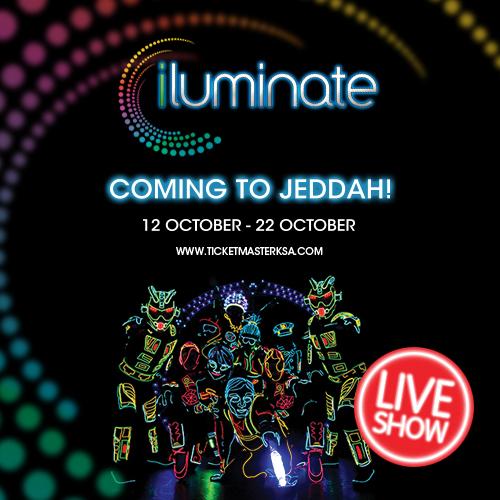 iLuminate™ Comes to Jeddah
