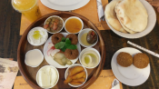 Arabic breakfast sampler